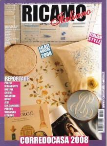 Ricamo Italiano 2008 gen- copertina